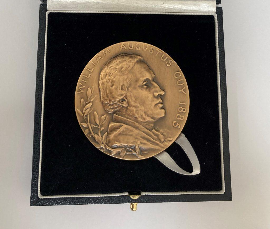 RSS Guy Medal in Bronze