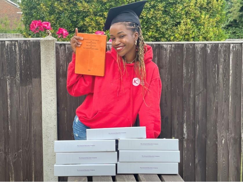 Graduate Refilwe Modise
