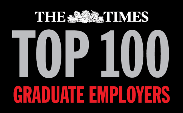 The Times Top 100 Graduate Employers logo