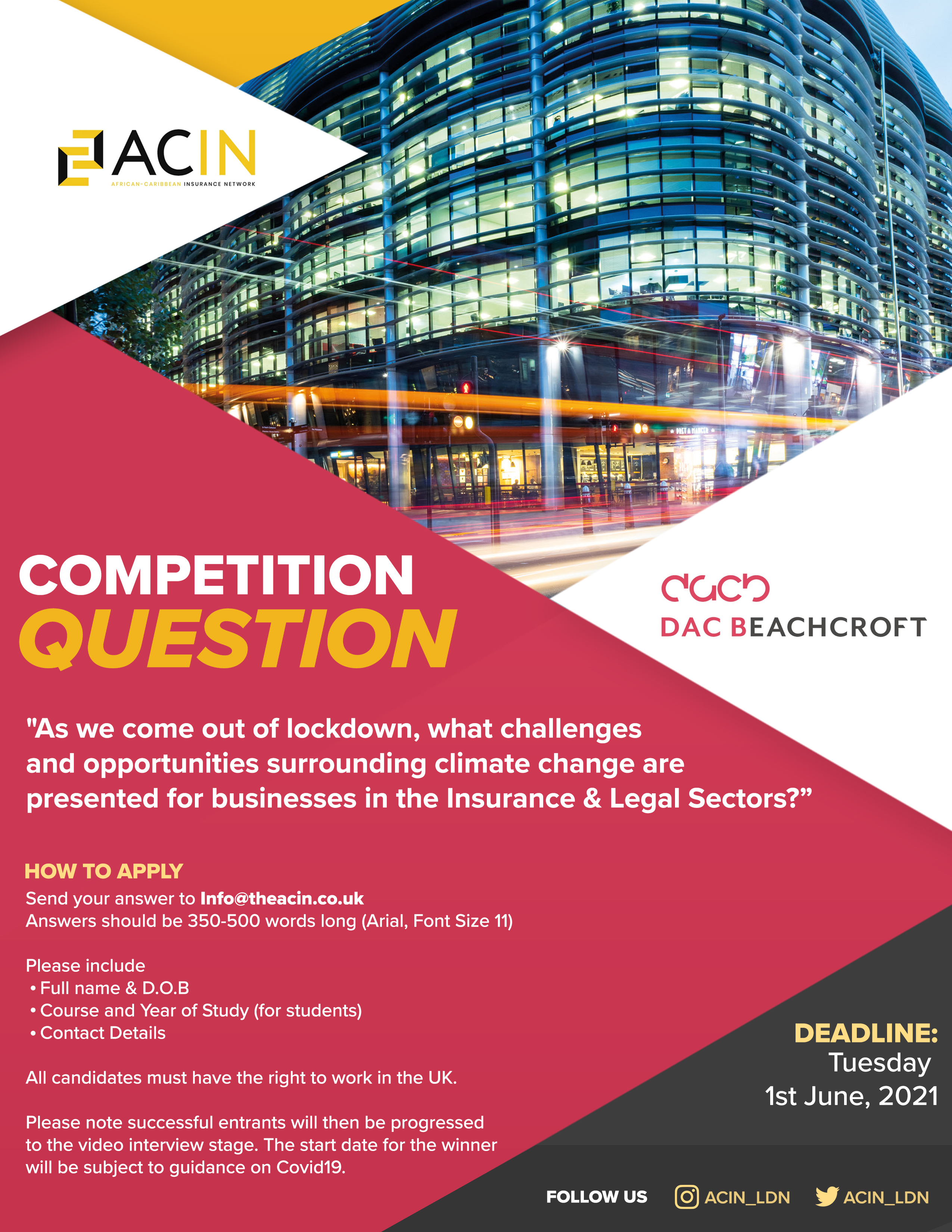 competition flyer