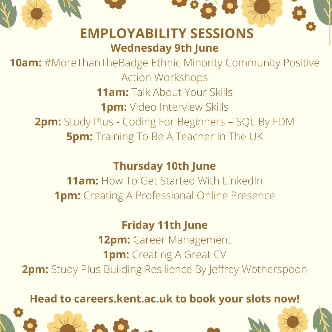 Careers events week beginning 7 June (2)
