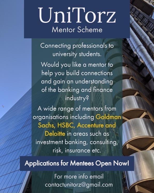 UniTorz mentor scheme poster