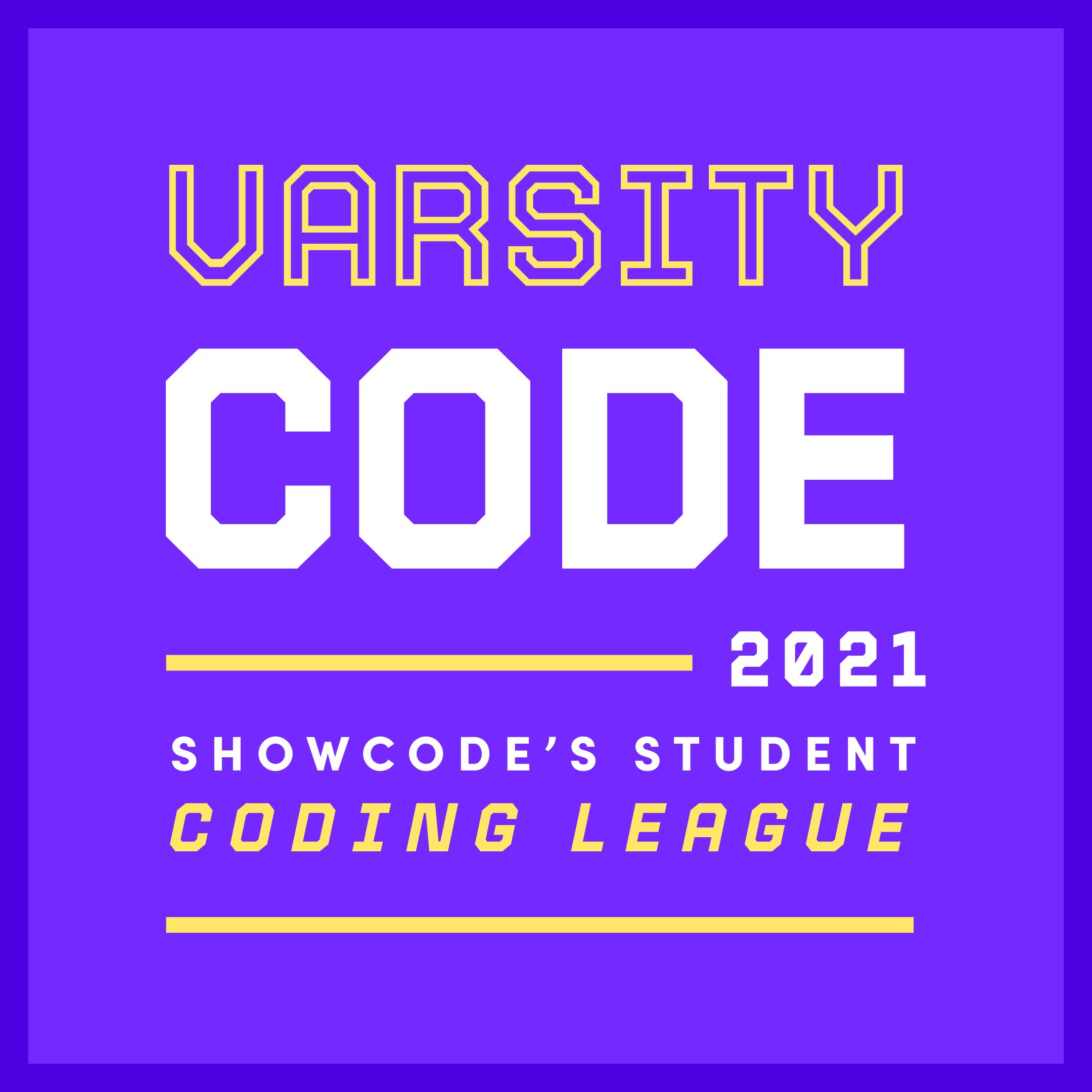 Varsity code 2021