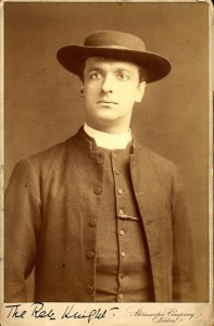 Frederick Melville as Reverend Knight