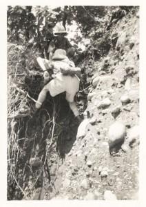 Climbing precipaces