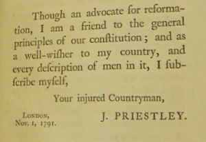 Preface to 'An Appeal to the Public'