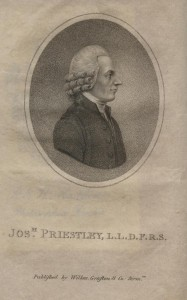 Portrait of Joseph Priestley from 'The Life of Joseph Priestley'