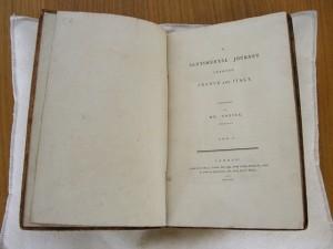 Sterne's 'A Sentimental Journey'