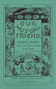 Cover of the first issue of Our Mutual Friend, May 1864
