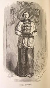 A tiara bearer