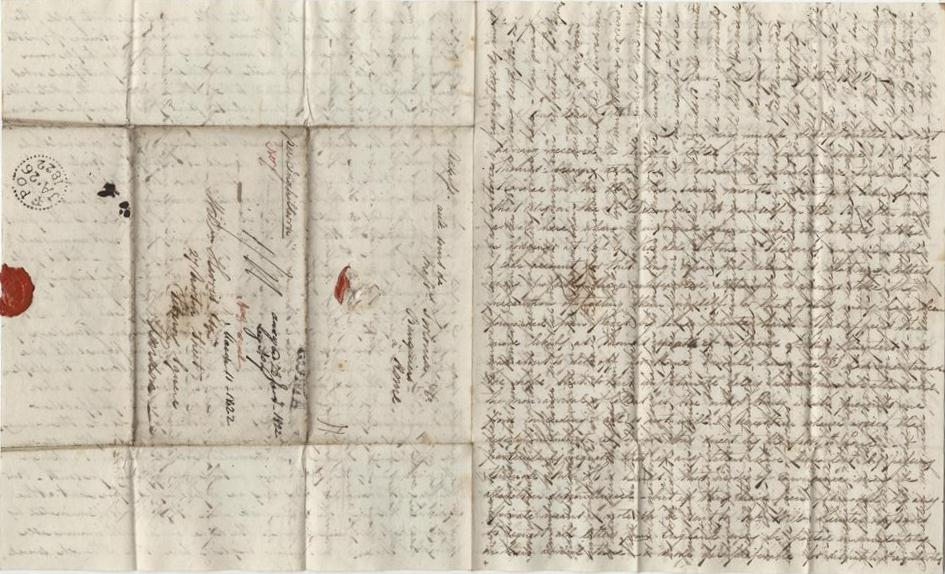 William's second letter to Rome
