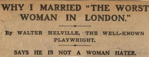 Cutting from an unidentified newspaper (0599996/1)