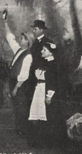 Publicity image for the play from 'Stageland', September 1905