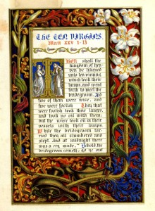 'The Parables of Our Lord' published to mimic a medieval book of hours