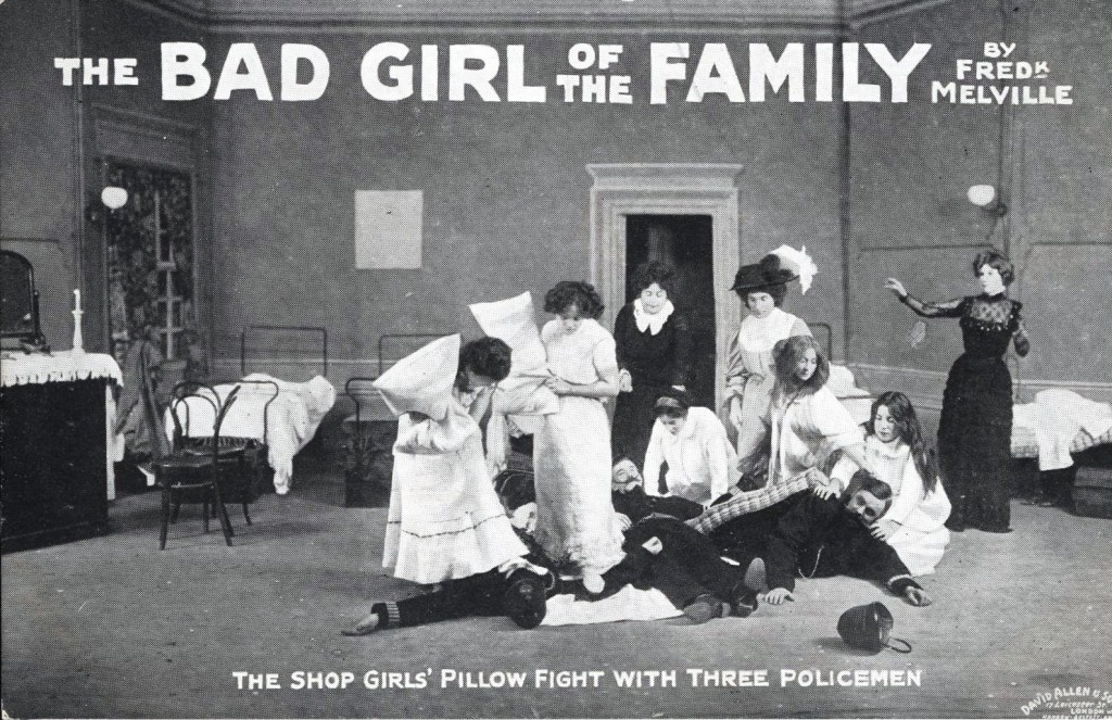 The Bad Girl of the Familt publicity postcard