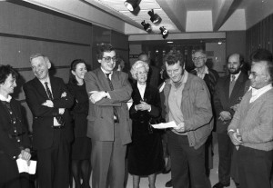 The opening of the Harry Bloom Room, 20 December 1991
