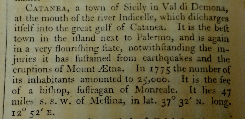 Extract from Stockdale's 'Geography'