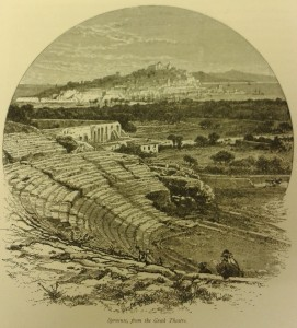 Illustration of 'Syracuse, from the Greek Theatre'