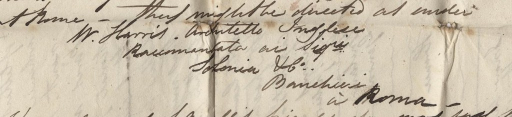 William had plenty of recourse to bankers during his trip - including to collect his post!