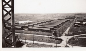 A view of the Monteith Prison Camp, taken by the father-in-law of our contact