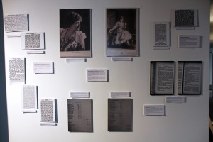 The British Theatre History student exhibition