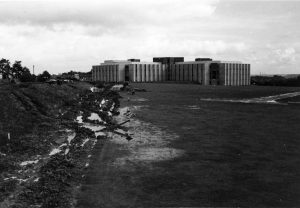Building of Rutherford College, October 1966