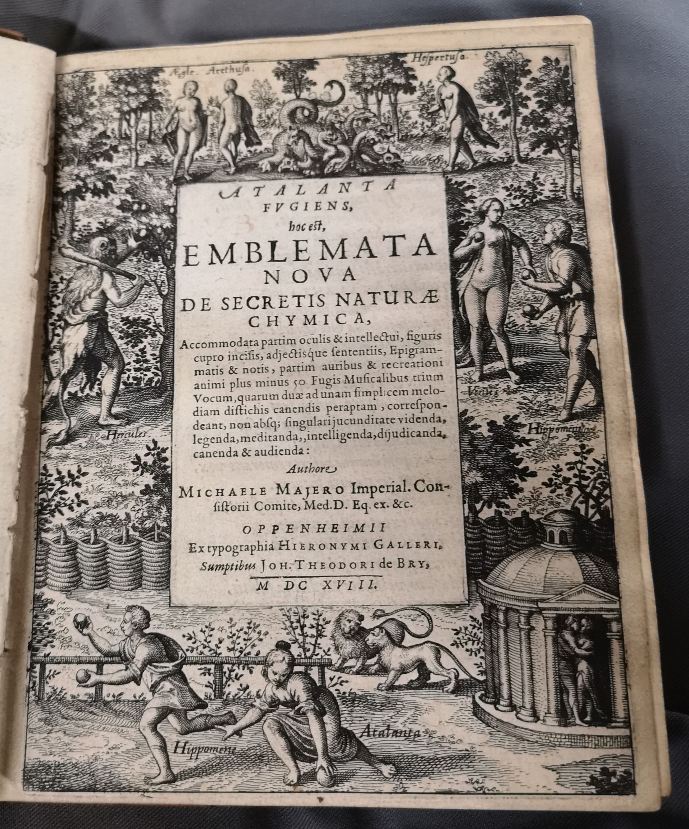 Title page from 'Emblemata Nova'