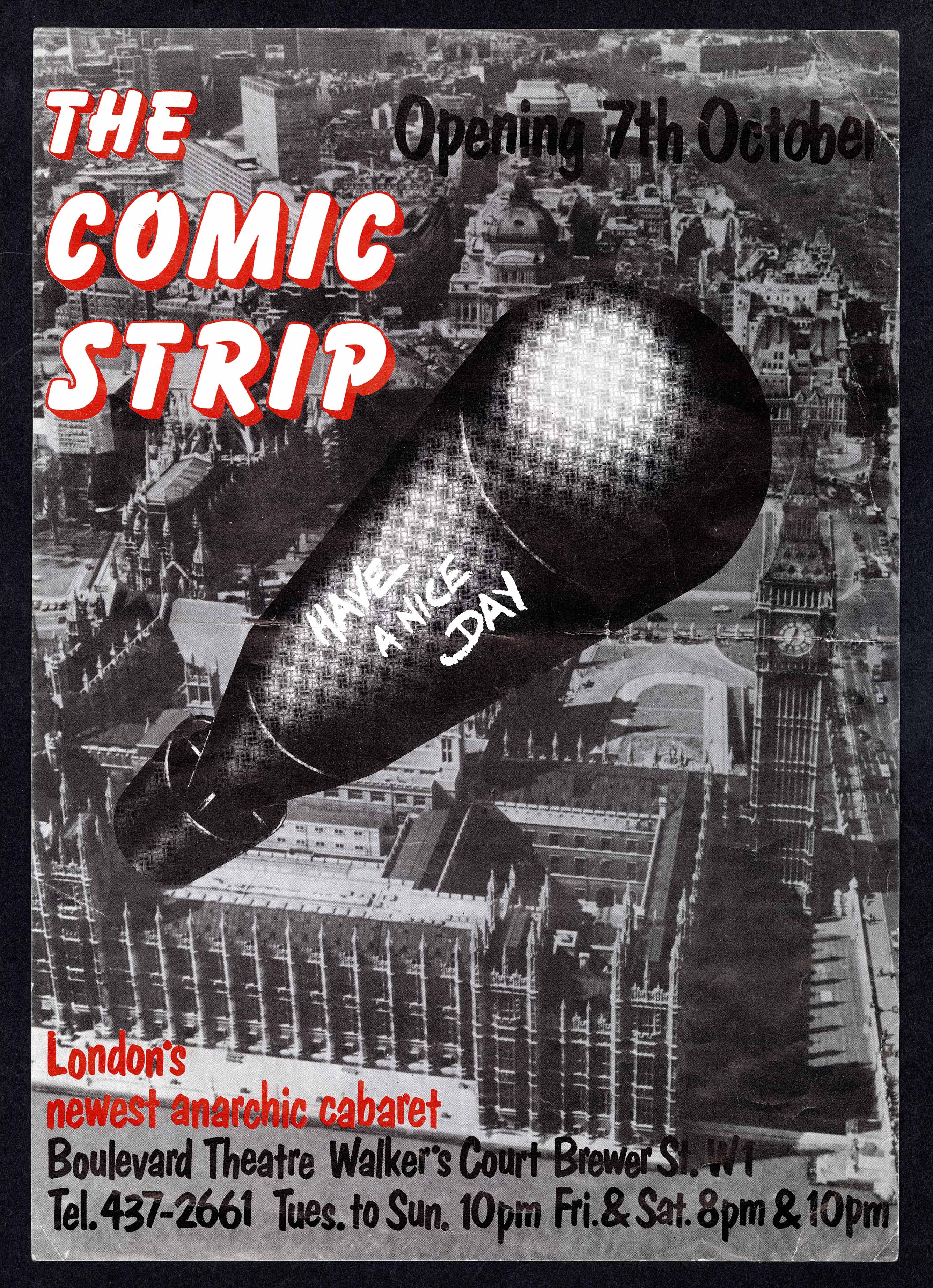 The Comic Strip poster, 1980