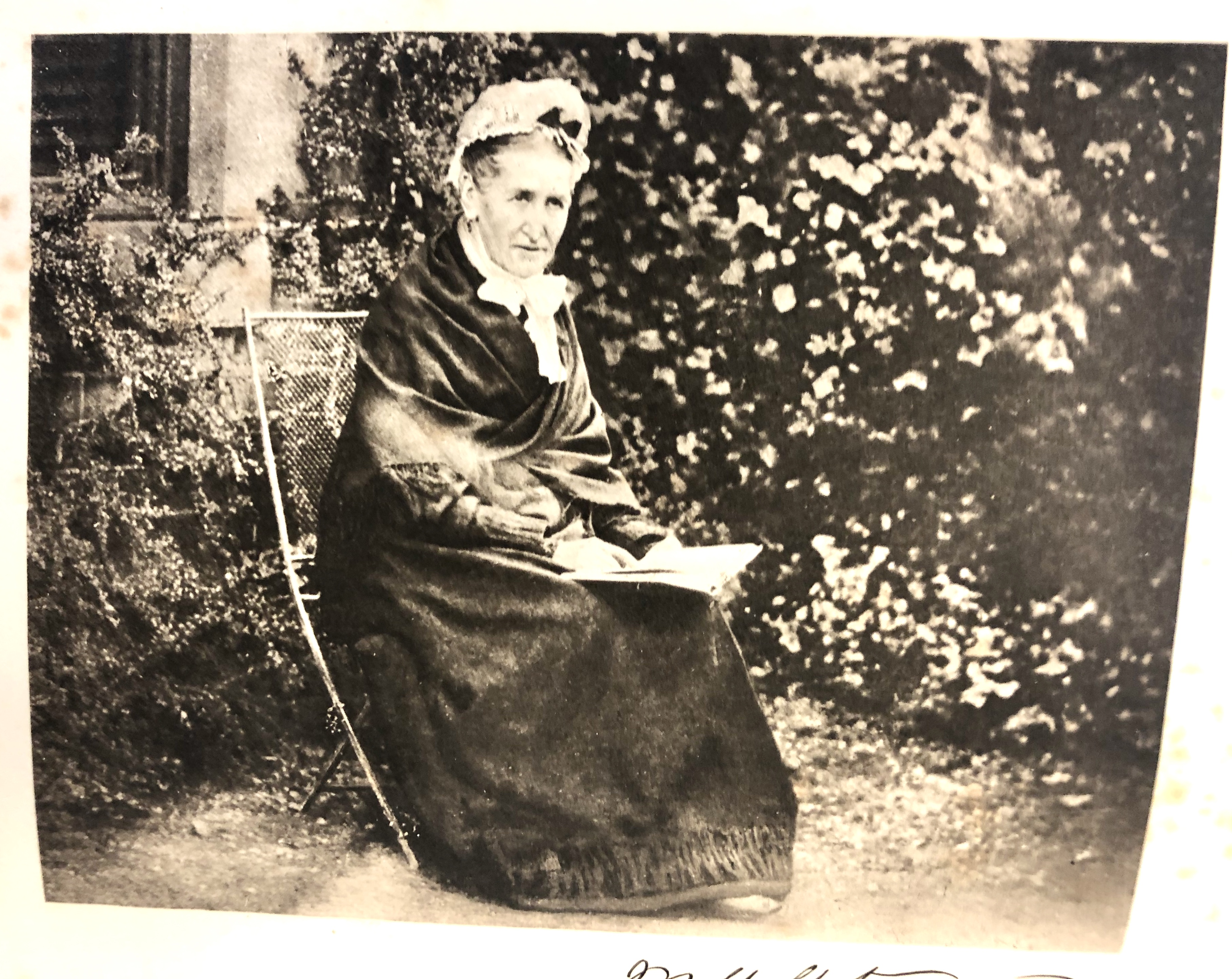 Photograph of alchemical researcher Mary Anne Atwood, undated.