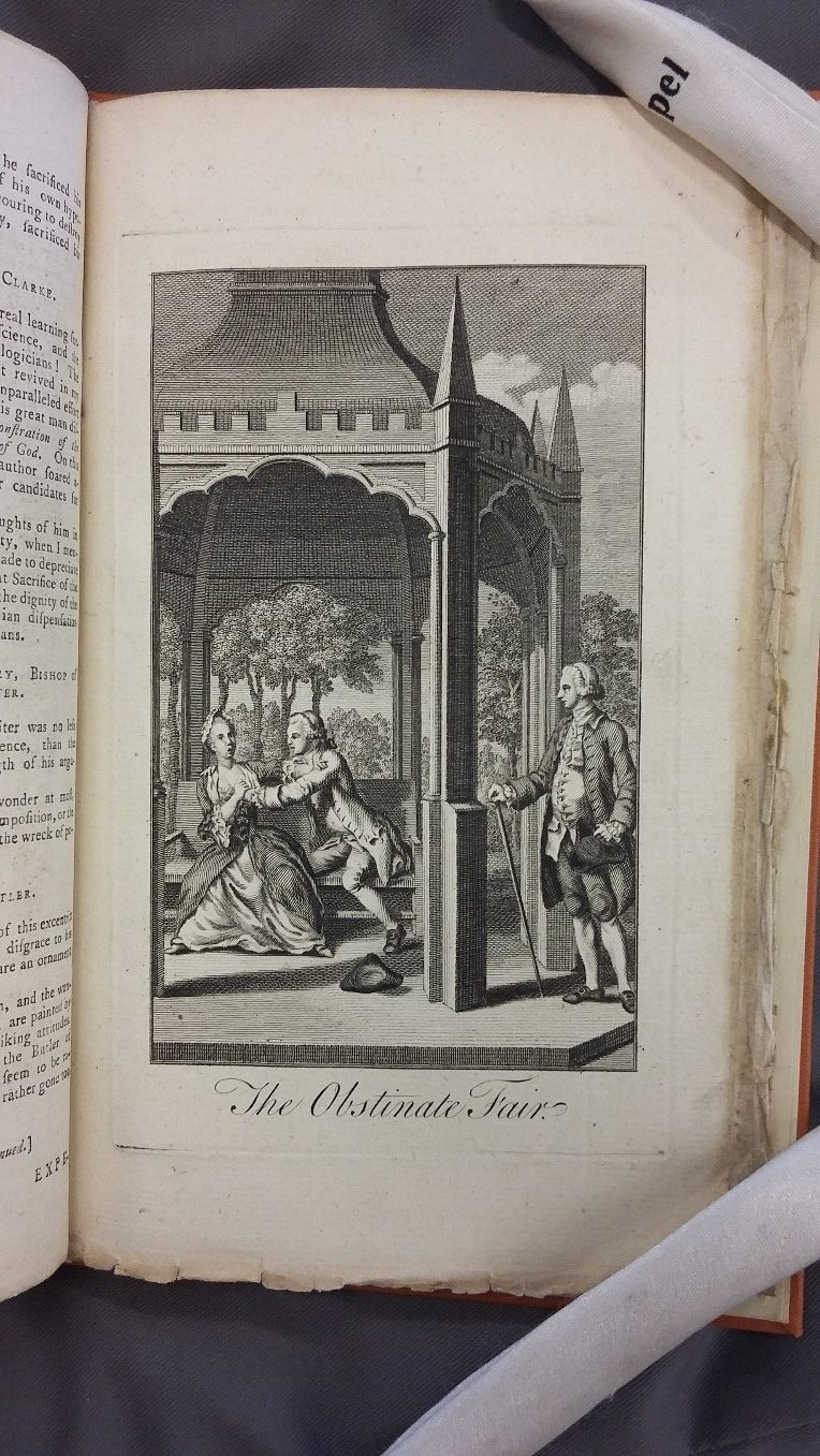 Figure 1: The Lady's Magazine Vol. 2(15), Oct. 1771.
