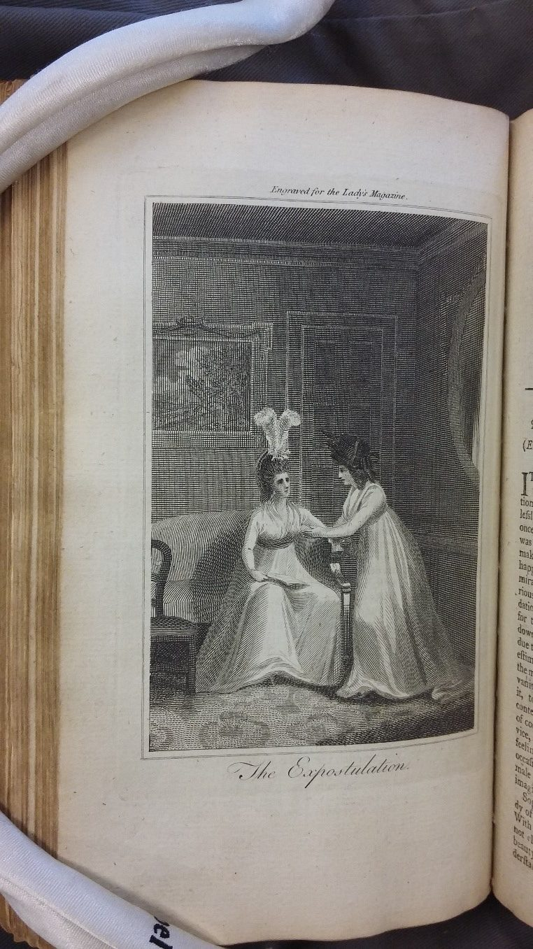 Figure 2: The Lady's Magazine Vol. 29, Oct. 1798.