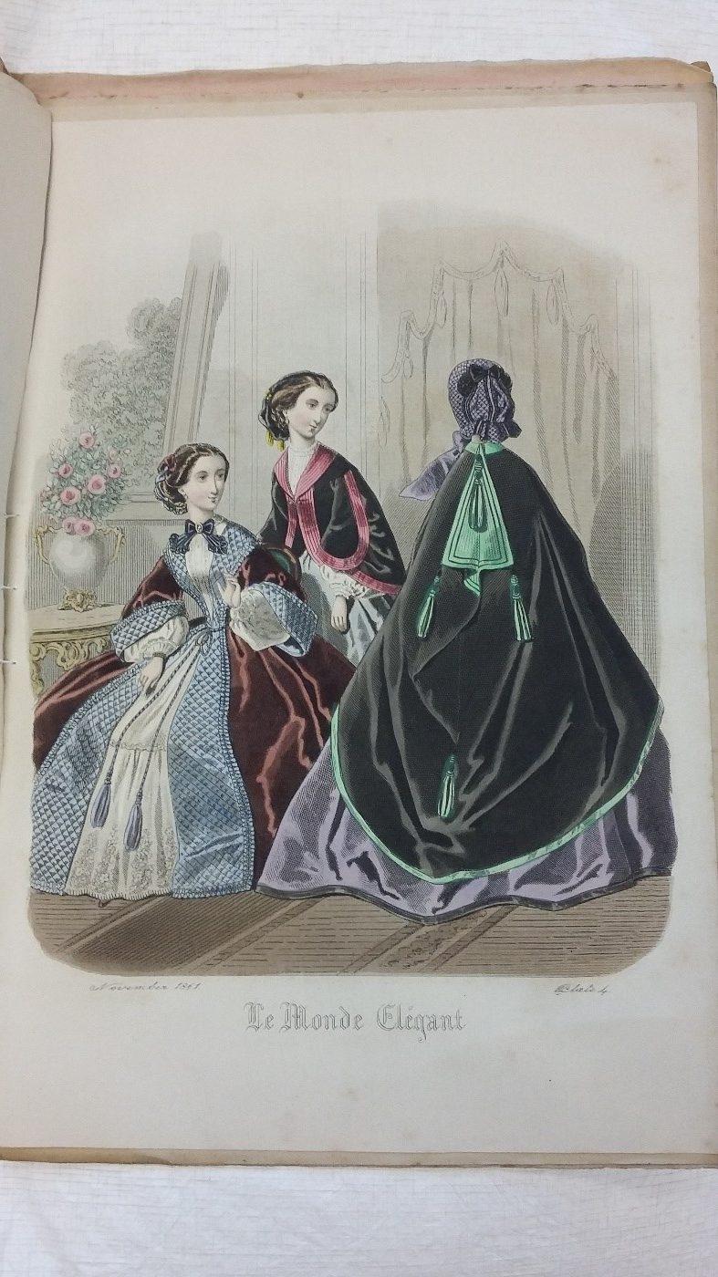 Figure 7: Le Monde Élégant No. 455, Nov. 1861.