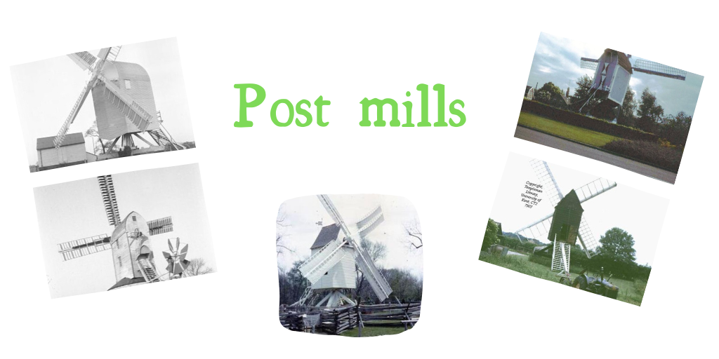 Post mills, not to be confused with post boxes
