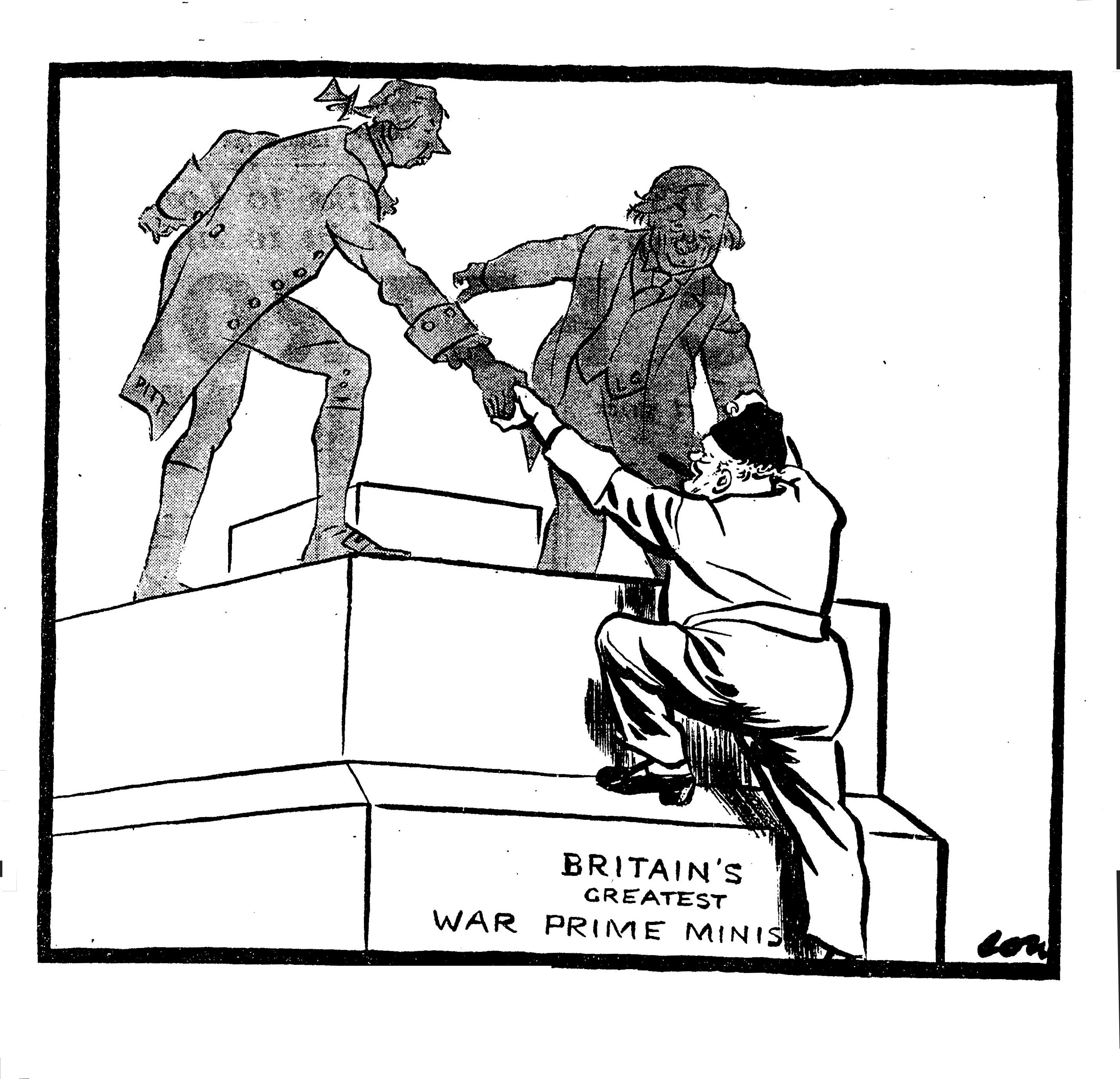 David Low, [no caption], Evening Standard, 12th May 1945 (LSE1229A)