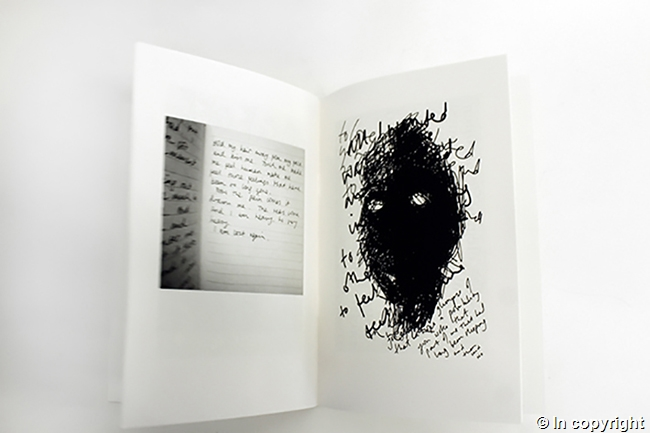 Image of pages from 'Inside : An artists's work: living with depression' by Yvonne J. Foster