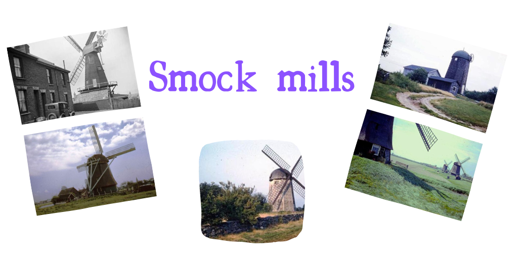 Smock mills in all their finery