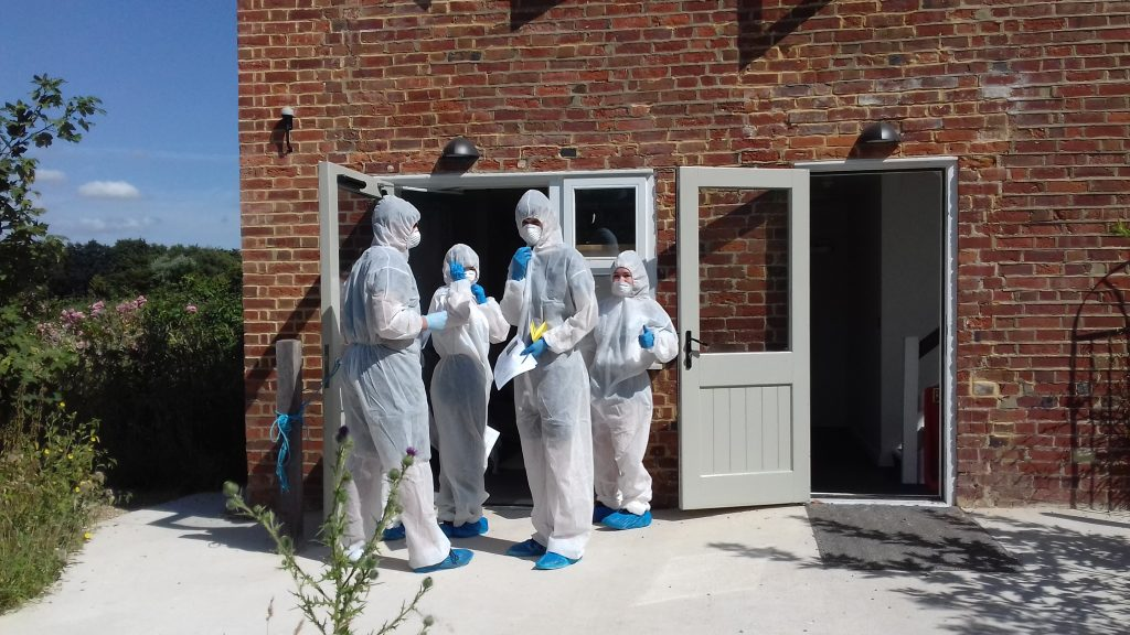 Uni Kent Crime Scene House