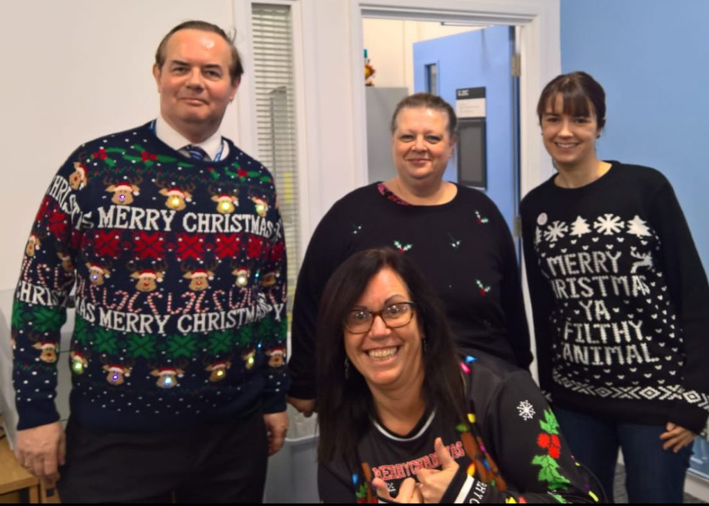 Christmas Jumper Day 2019 Save The Children.Making The World Better With A Sweater School Of Physical