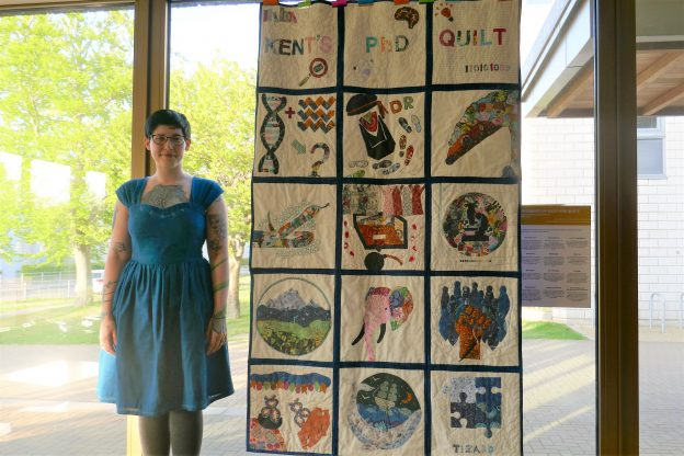 PhD research quilt University of Kent