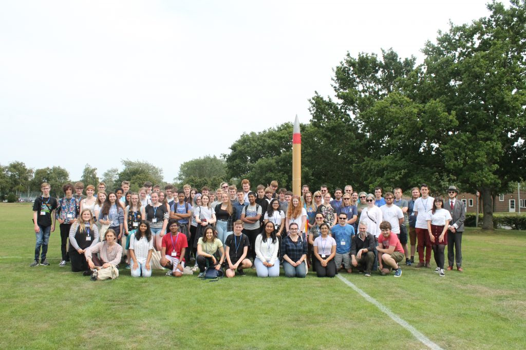 Space School 2019 University of Kent Group Photo