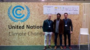 Greg Davies at the United Nation Climate Change Conference in Bonn 2017