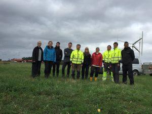 Greg Davies on a Geophysics Field Trip in Uppsala in 2017