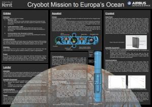 Cryobot Poster for Physics Challenge