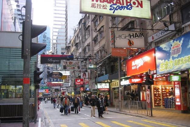 HONG KONGS LOCKHART ROAD