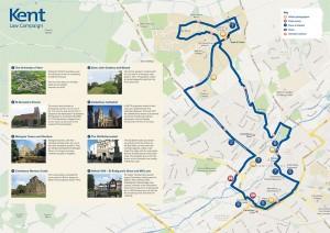 Legal Walk route