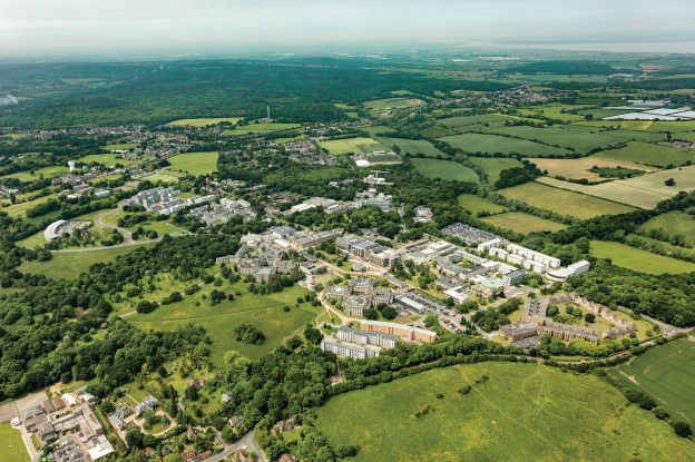 University of Kent's Canterbury campus