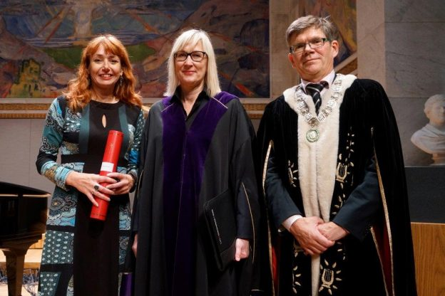 Professor Yvonne Sherwood Honorary Doctorate