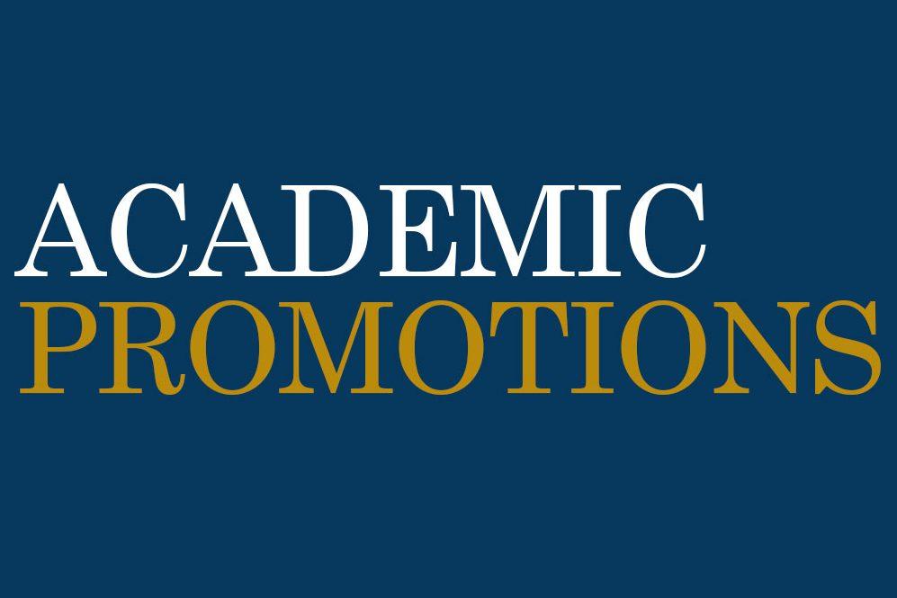 Academic Promotions 2017