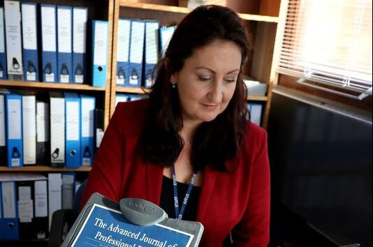 Dr Claire Parkin, Editor of AJPP