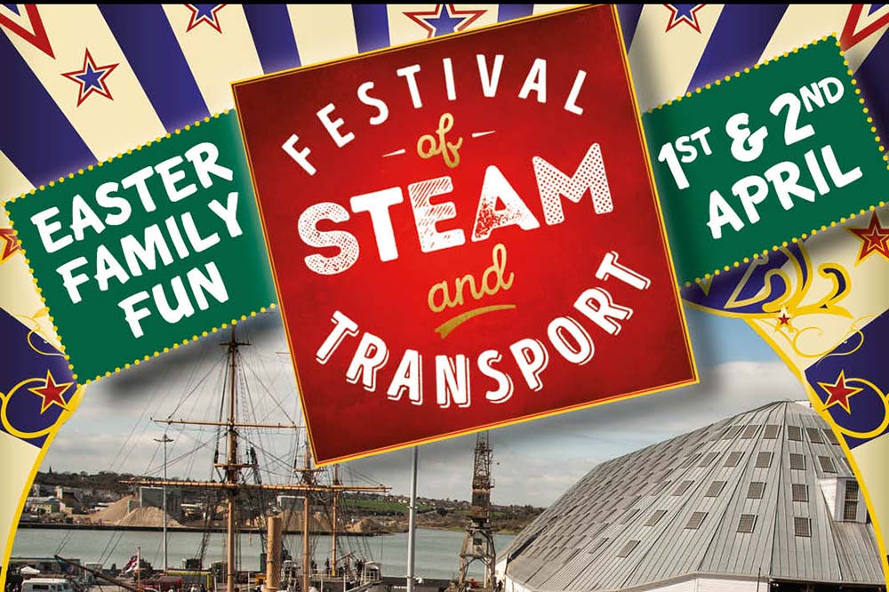 Discount tickets for Festival of Steam and Transport, 1-2